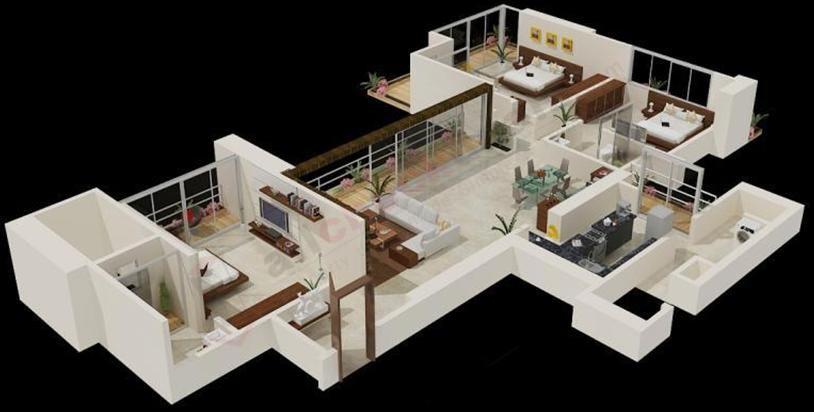 4 bhk flat in mumbai git der shop f r eltern for 4 bhk apartment design