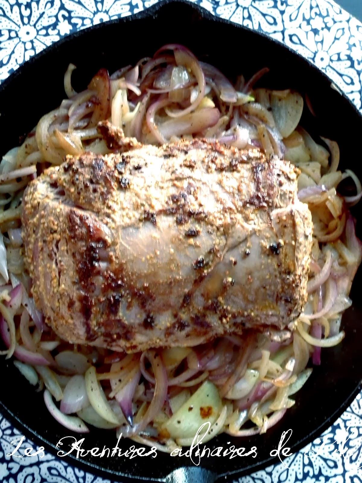 R ti de boeuf l 39 oignon recette - Cuisiner un roti de boeuf ...