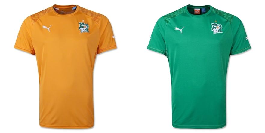 Pantai Gading - Jersey Grade Ori Piala Dunia 2014