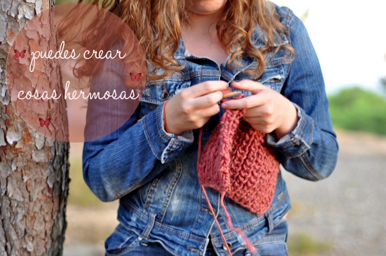 beneficios del crochet: crear cosas bellas
