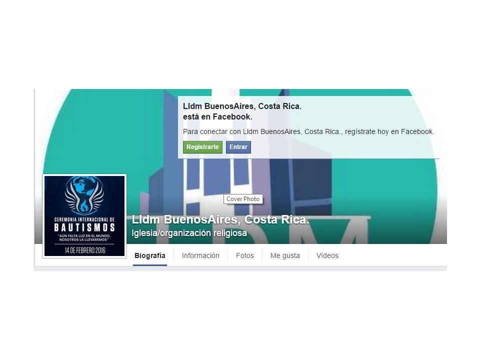 Más información en Facebook