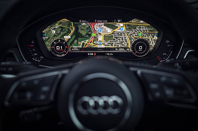 Novo Audi A4 2016 - interior - virtual cockpit