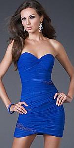 Navidad, Año Nuevo, Vestidos Modernos, Azul