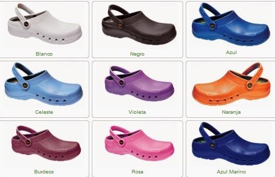 Ampliar Imagen: Zuecos de EVA, colores disponibles