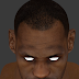 NBA 2K14 LeBron James HD Face Texture V1.1