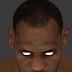 NBA 2K14 LeBron James HD Face Texture V1.1