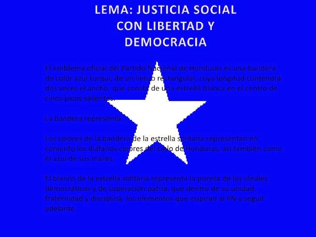 Bandera Partido Nacional