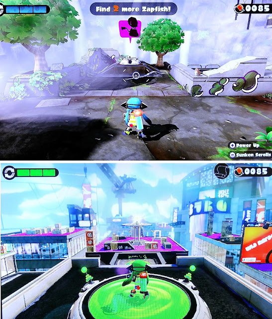 Nintendo Wii U, Virtual World game for kids, Splatoon