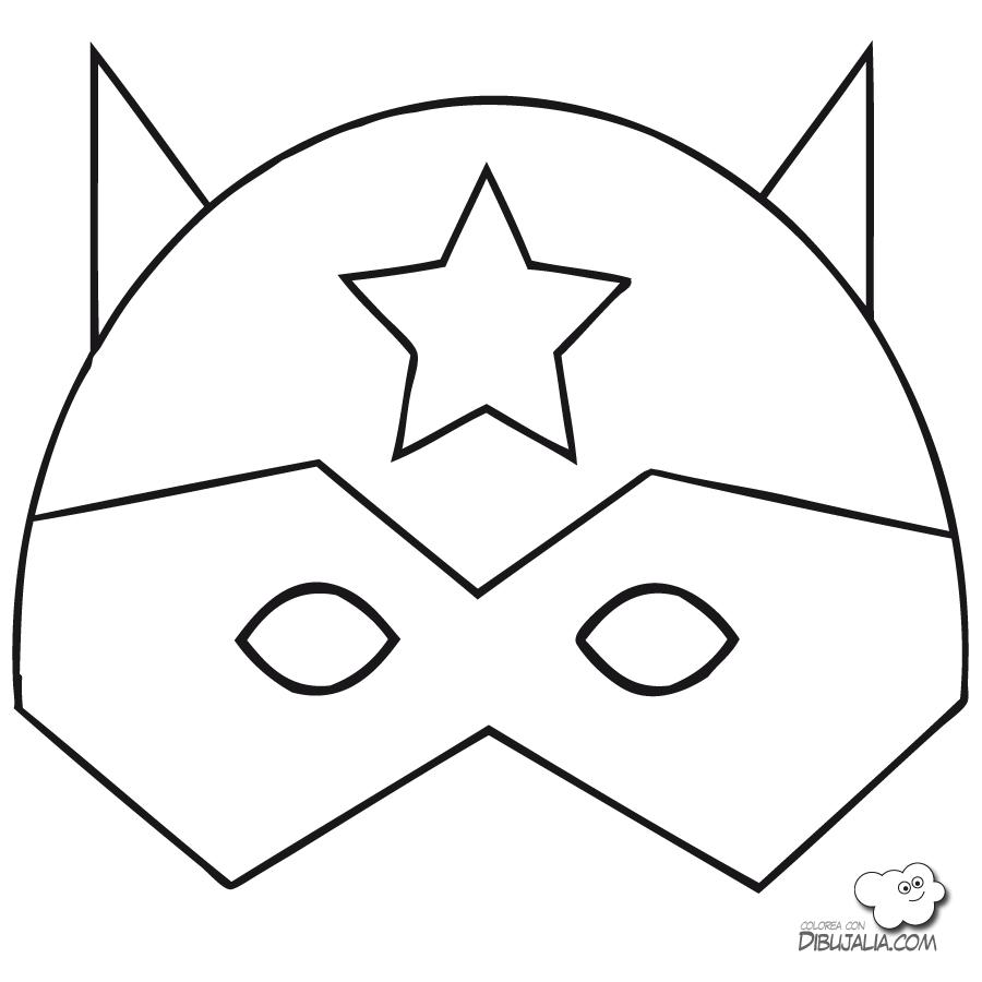 Máscaras de los vengadores para imprimir y colorear | Máscaras de ...