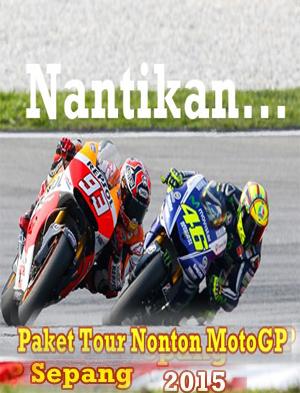 paket murah nonton motogp sepang 2015