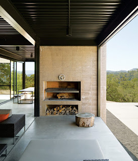 Modular weekend house, California