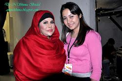 with Dato' syarifah aini di AJL 25
