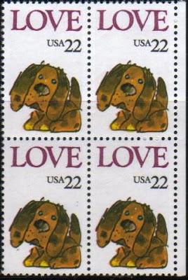 1986年アメリカ合衆国 犬の切手