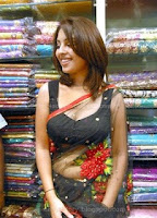 Richa, gangopadhyay, showing, navel, and, cleavage, hot