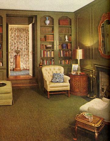 Go grad girl 1950s living room admiration for Home decor 1960s