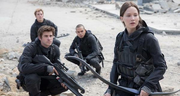 Jennifer Lawrence en Los Juegos del Hambre: Sinsajo - Parte 2