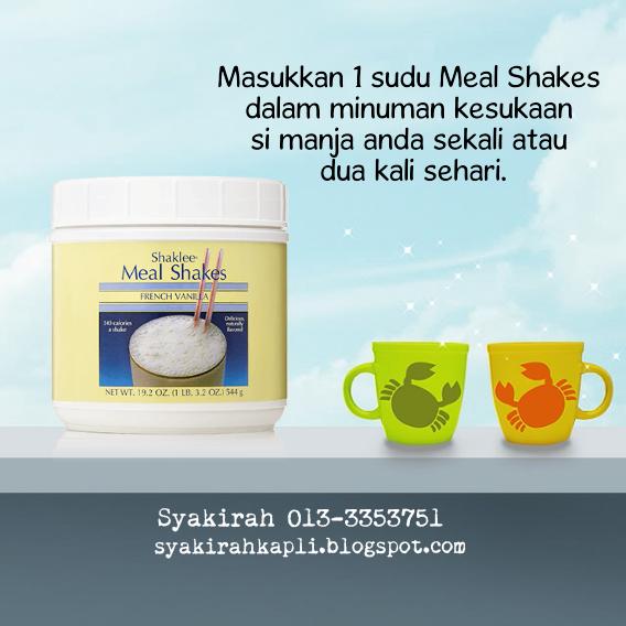kelebihan meal shakes shaklee