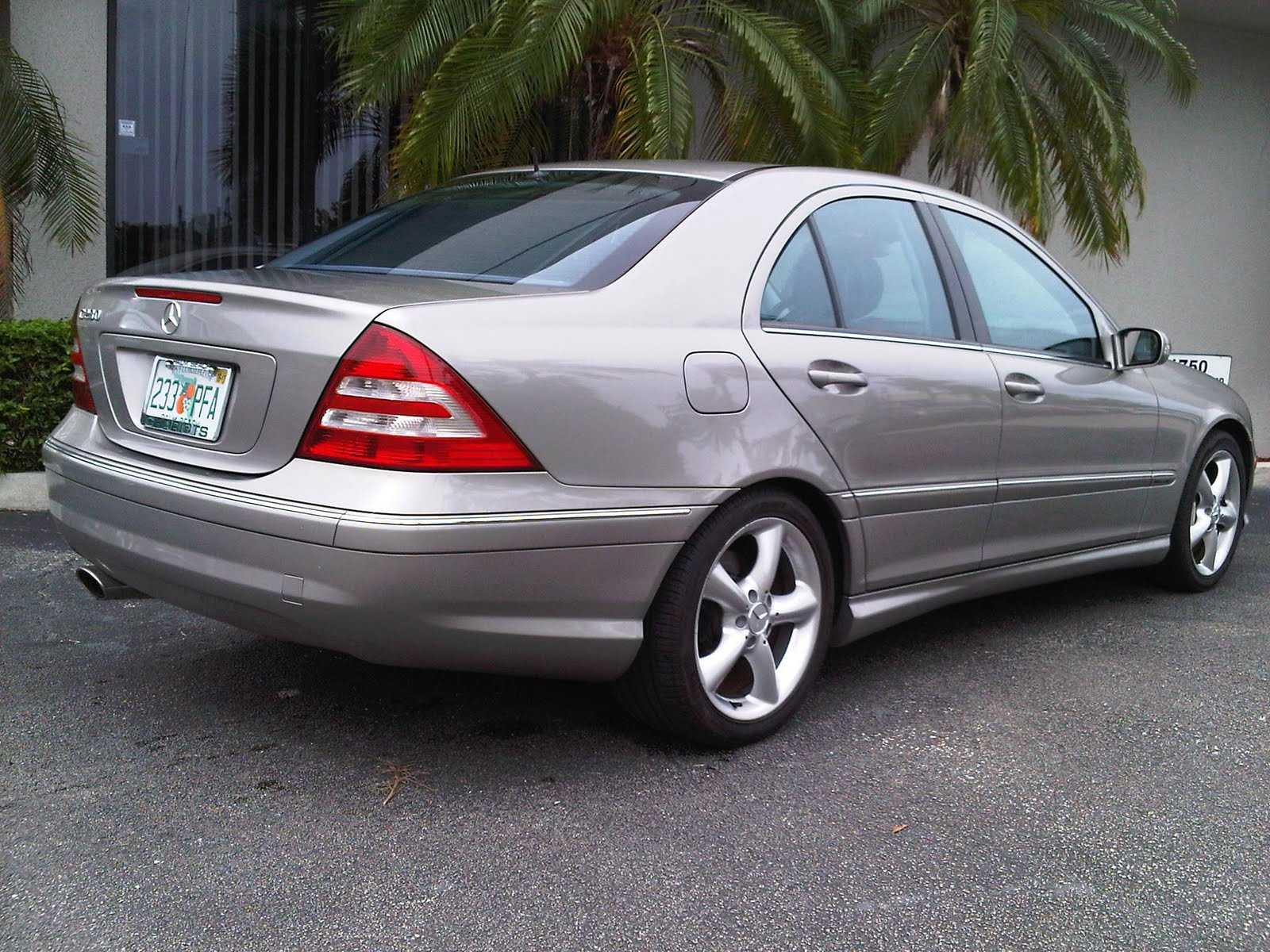 Awesome Motors Inventory  2006 Mercedes Benz C230 Sport Pewter With Black Leather