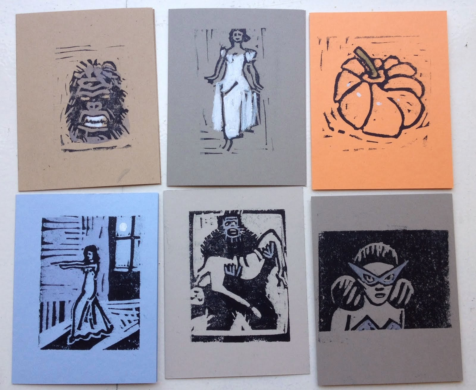 My Halloween Cards for sale
