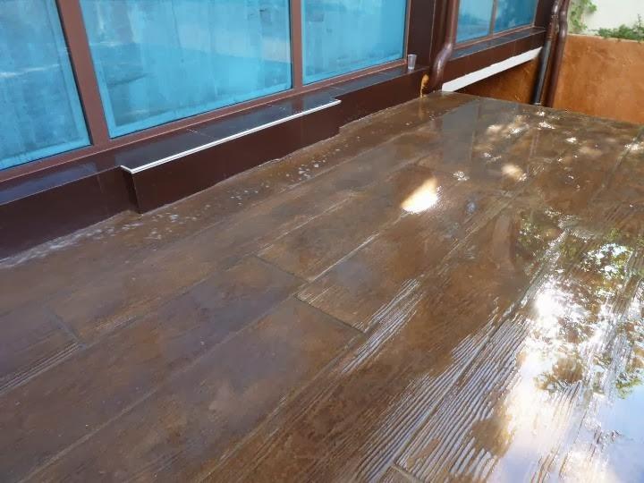 Щампован бетон имитация на дюшеме