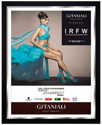 Bipasha Basu's stunning New Print Ads for IRFW 2013