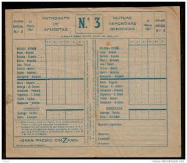 QUINIELA 1957