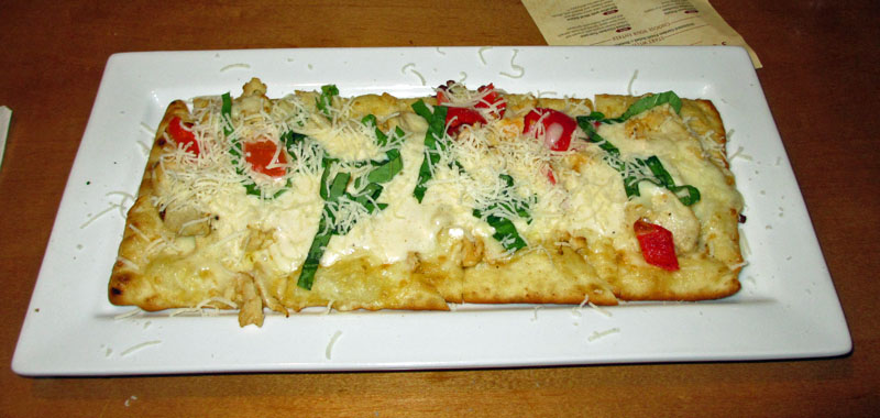 Central florida 39 s good eats olive garden for Olive garden chicken flatbread