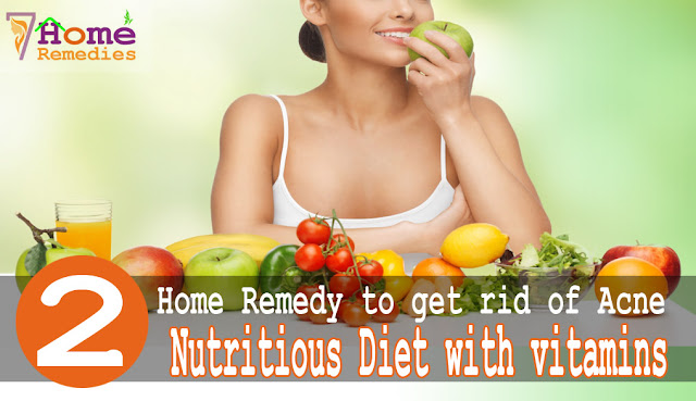 balanced diet food prevents acne