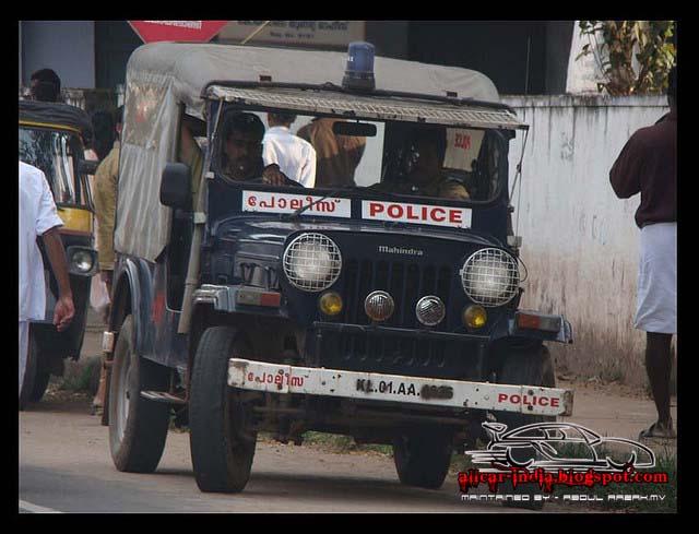 Automotive Craze Kerala Police Vehicles