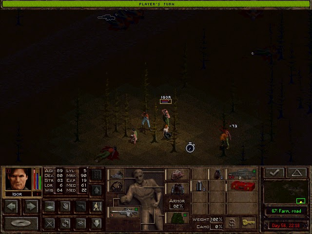Jagged Alliance 2: Wildfire - Lethal Head Shot Description