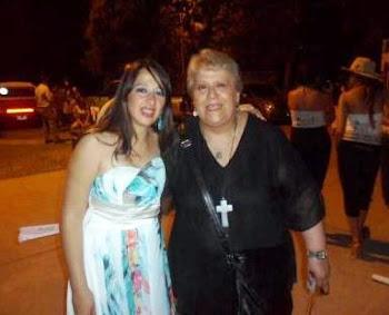 Con Ofelia Leiva