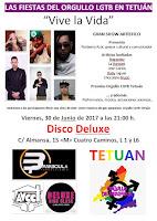 """Las fiestas del Orgullo LGTB en Tetuán """"Vive la vida"""""""