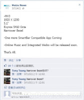 Meizu MX3, Smartphone Pesaing Galaxy S4