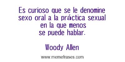 Frases celebres de Woody Allen