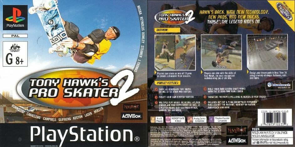 Retro Console Games Tony Hawks Pro Skater 2 Review