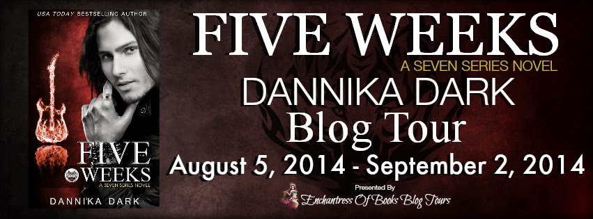 Five Weeks Blog Tour – Excerpt & Giveaway