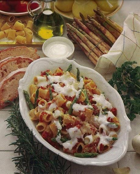 Maccheroni e Asparagi | Macaroni and Asparagus
