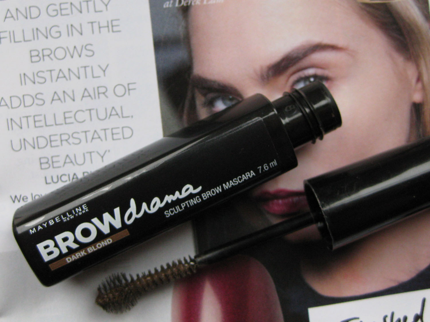Review maybelline brow mascara indonesia