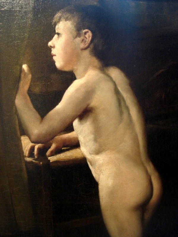 Anon Nude Boy At The Window