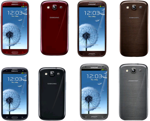 Four New Colors of Samsung GALAXY S3 Will be Unveiled at IFA event
