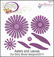 ODBD Custom Asters and Leaves Dies