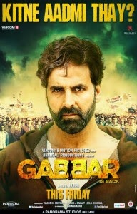 Gabbar is Back 2015 Hindi DVDScr 350mb