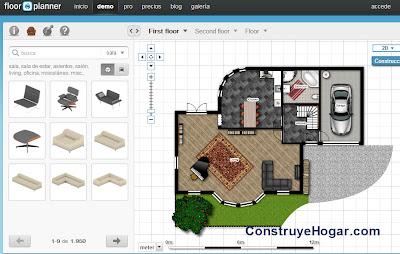 Aplicaciones para hacer planos de casas gratis en la nube - Programas para disenar casas gratis ...