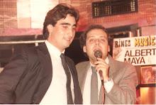 Con Albert Maya 1986