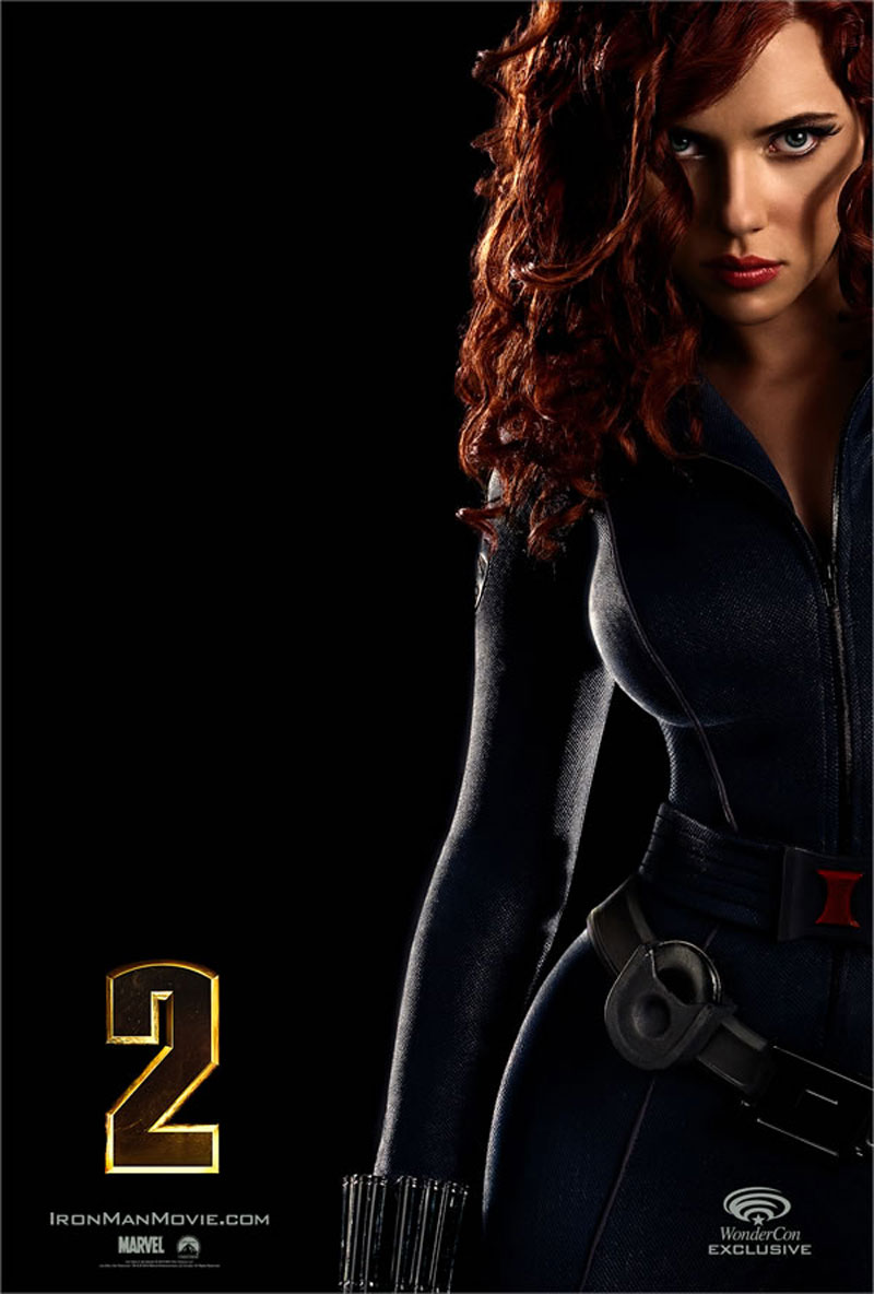 Celebrities Movies And Games Iron Man 2 Scarlett