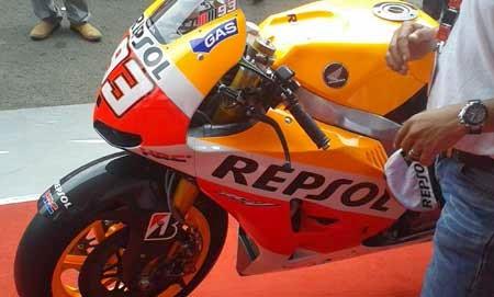 gambar Honda RC213V Marc Marquez