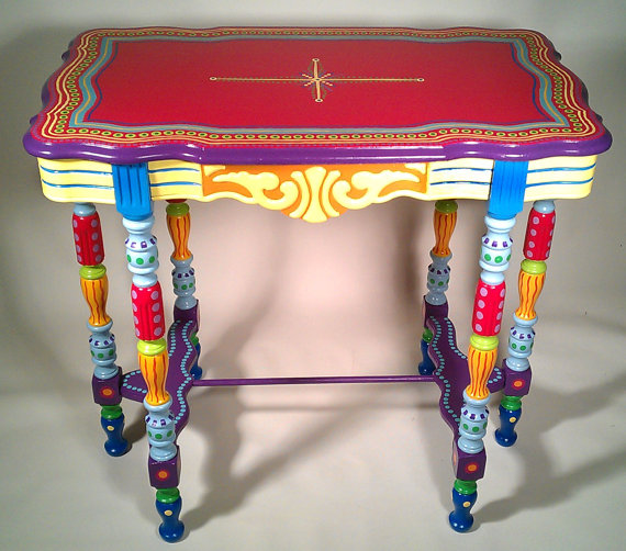 Selvage Blog Lisa Frick 39 S Painted Furniture