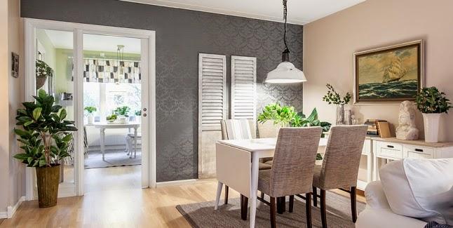 Elegante y desenfadado decorar tu casa es for Combinar lamparas salon comedor