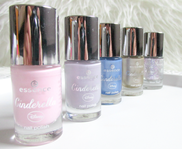 essence Cinderella Nagellacke / Nail Polishes Limited Edition