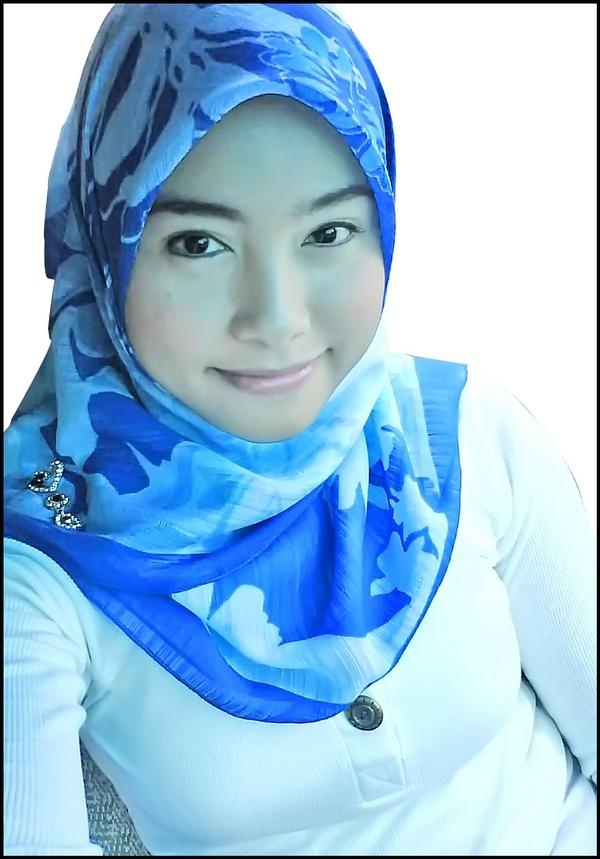 If this is the candidate, I'll pangkah her